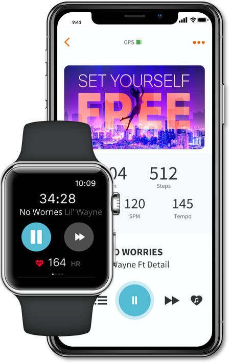 Apple Watch Music Control